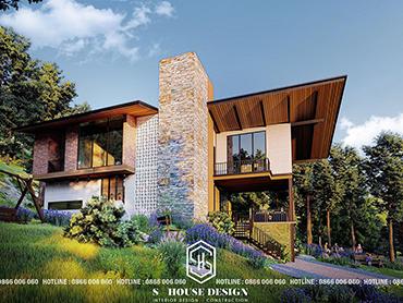 Thiết kế kiến trúc Villa Vườn Đồi