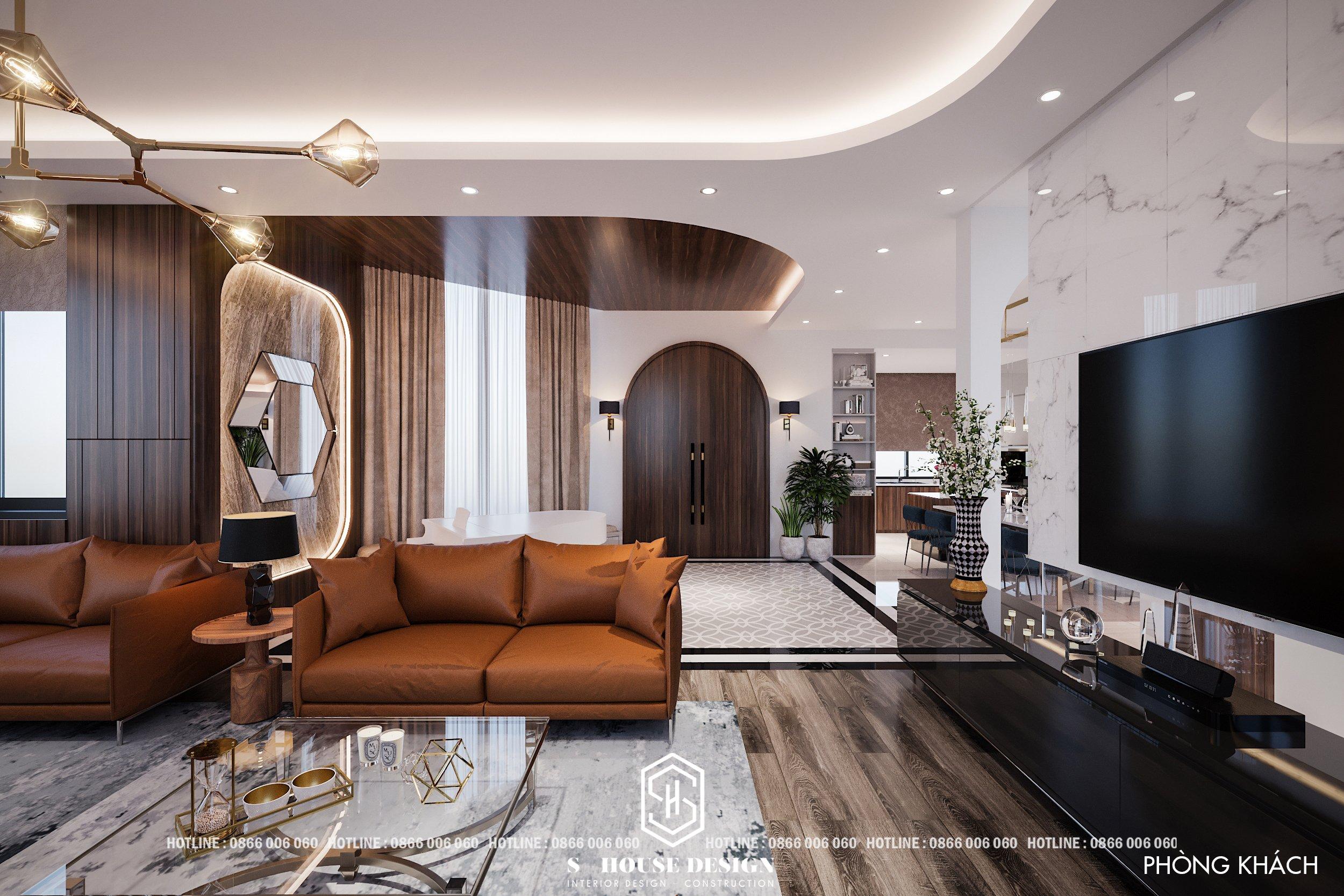 Thiết kế nội thất nhà đồi Đà Lạt