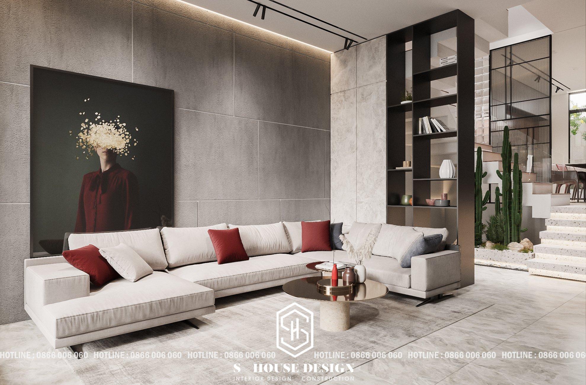 thiết kế nội thất nhà phố 3 tầng đơn giản