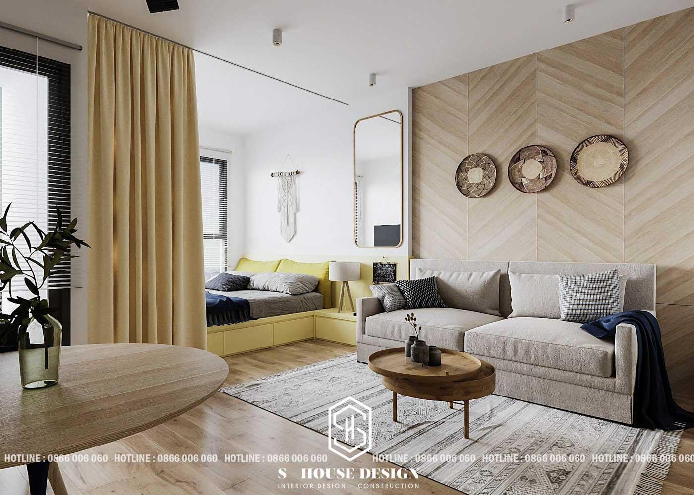 Mẹo thiết kế nội thất cho căn hộ siêu nhỏ tại Sài Gòn